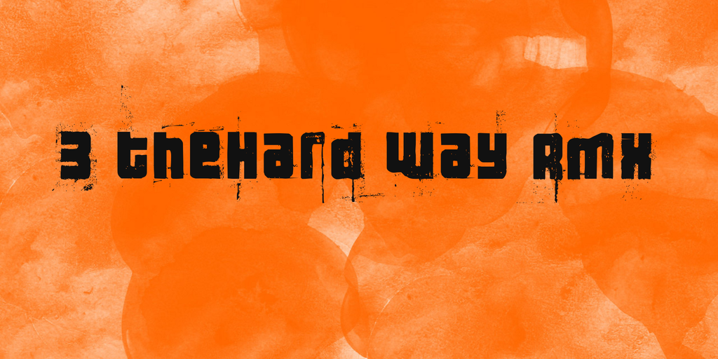 3 theHard way RMX illustration 1