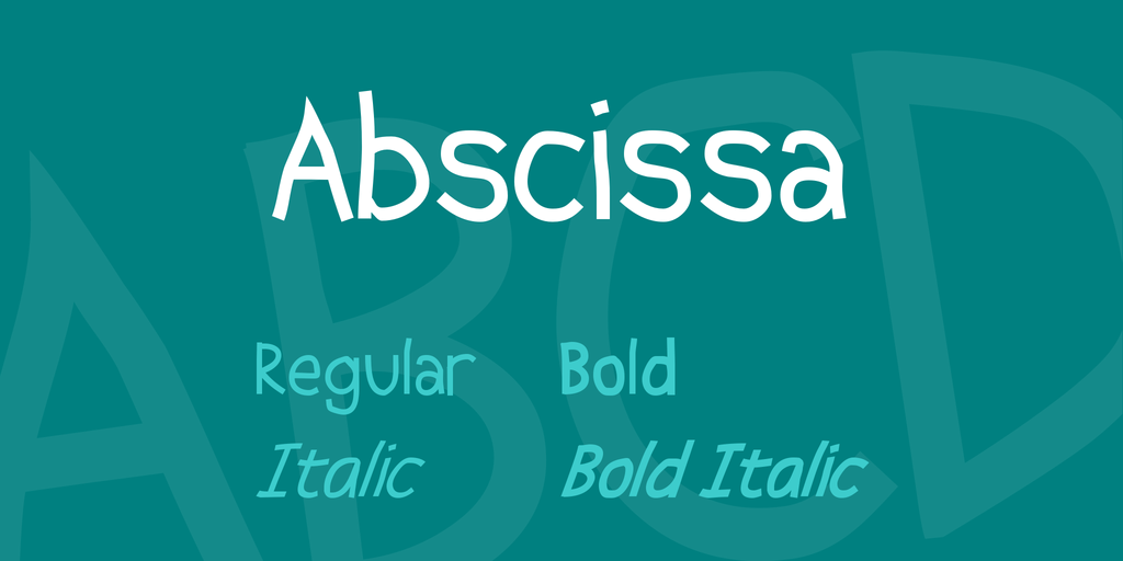 Abscissa illustration 1