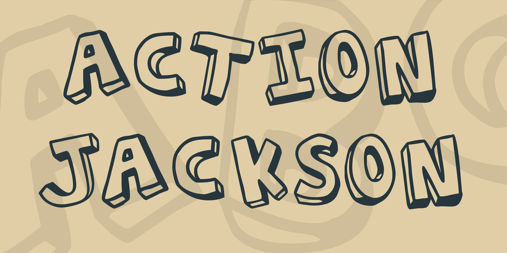 Action Jackson illustration 1