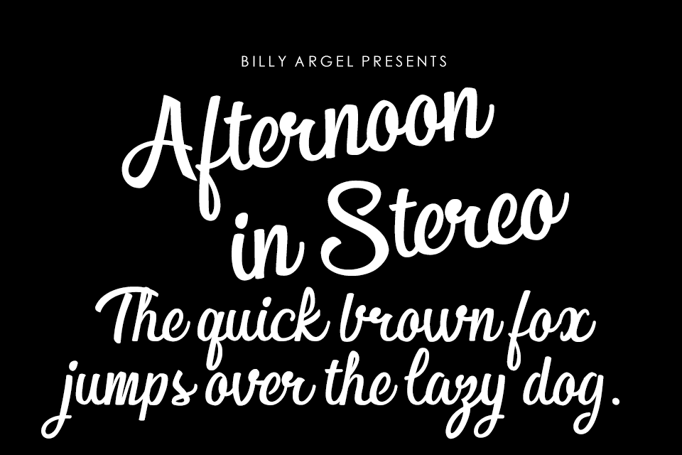 Afternoon in Stereo Personal Us illustration 1