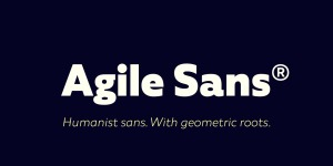 Agile Sans illustration 2