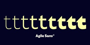 Agile Sans illustration 4