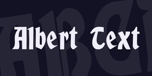 Albert Text illustration 1