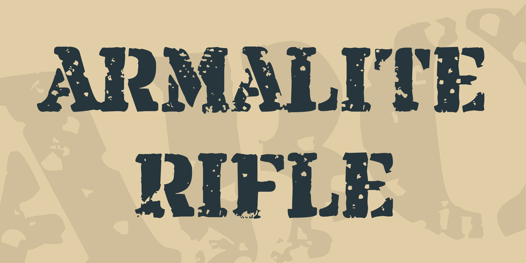 Armalite Rifle illustration 2