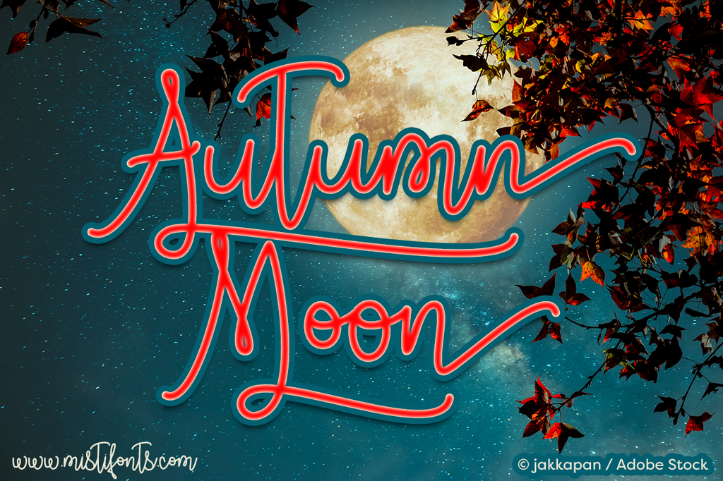 Autumn Moon illustration 7