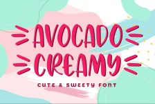 Avocado Creamy illustration 1