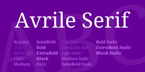 Avrile Serif illustration 5