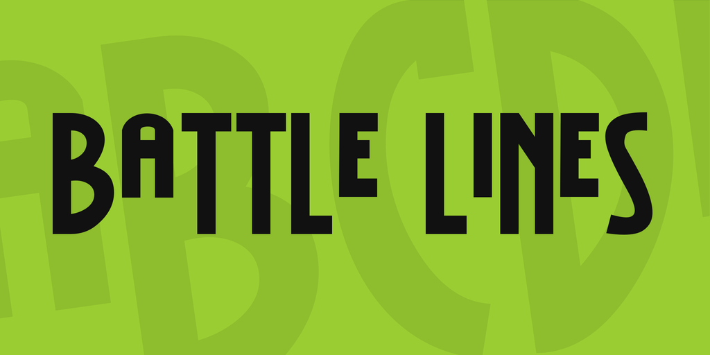 Battle Lines illustration 1