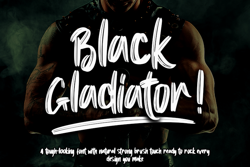 Black Gladiator - Personal Use illustration 2