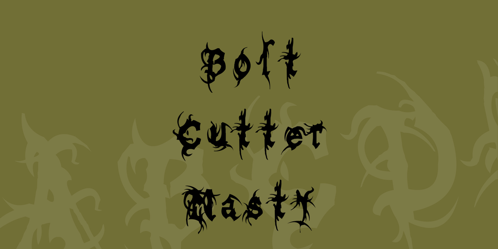 Bolt Cutter Nasty illustration 1