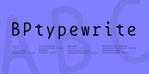 BPtypewrite illustration 1