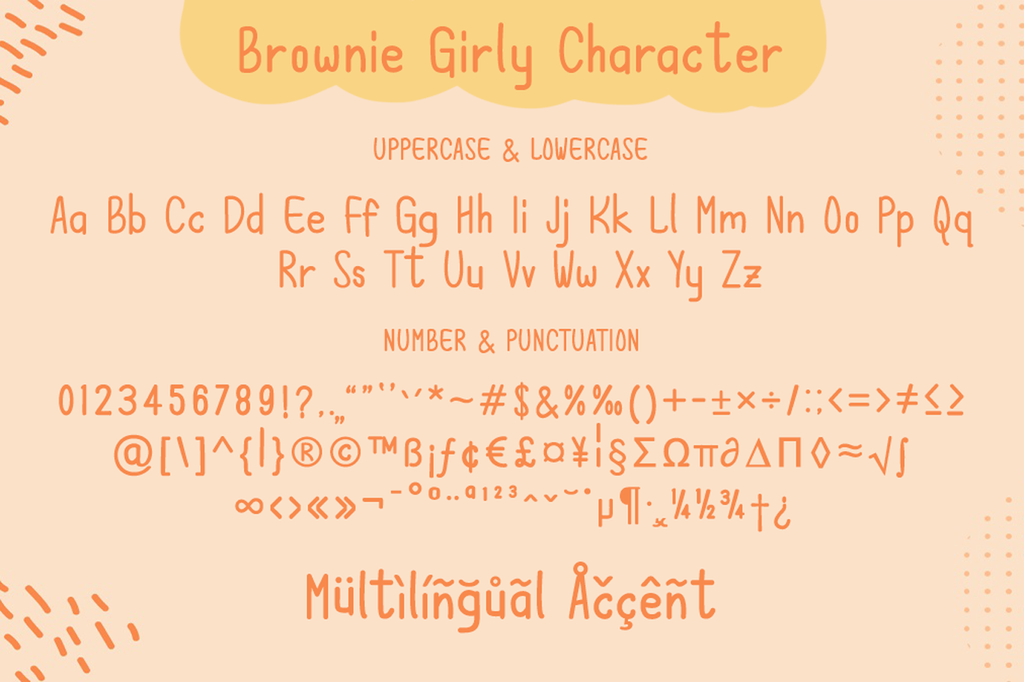 Brownie Girly illustration 3