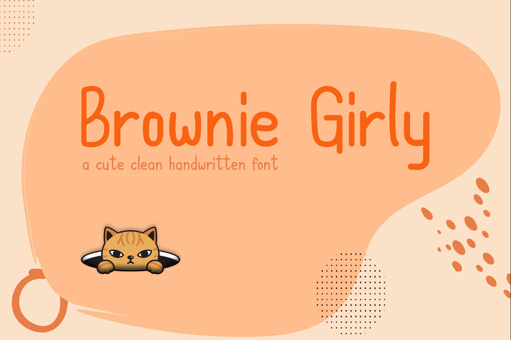 Brownie Girly illustration 6
