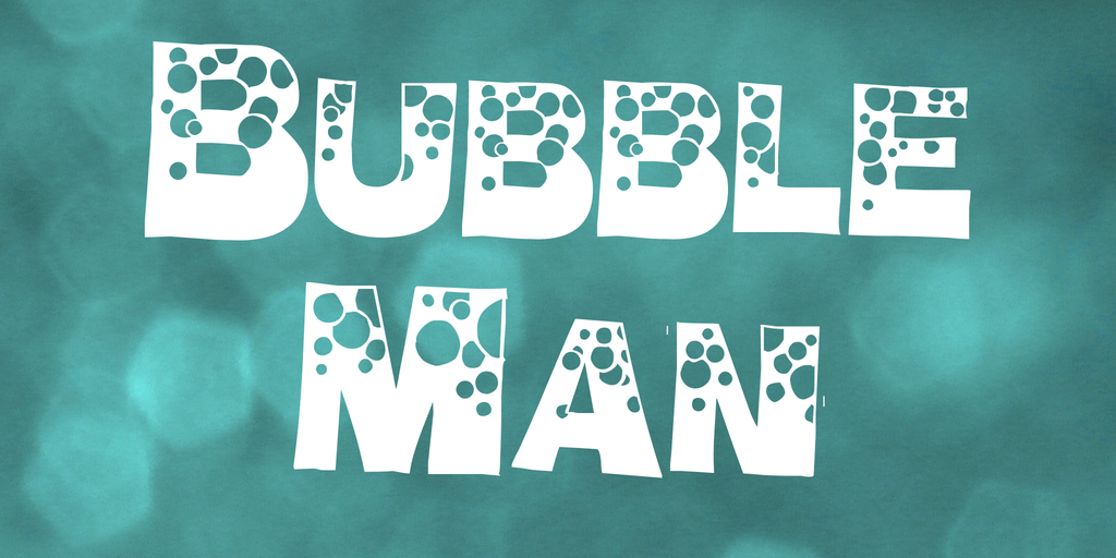 Bubble Man illustration 1