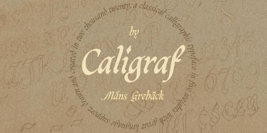 Caligraf illustration 2