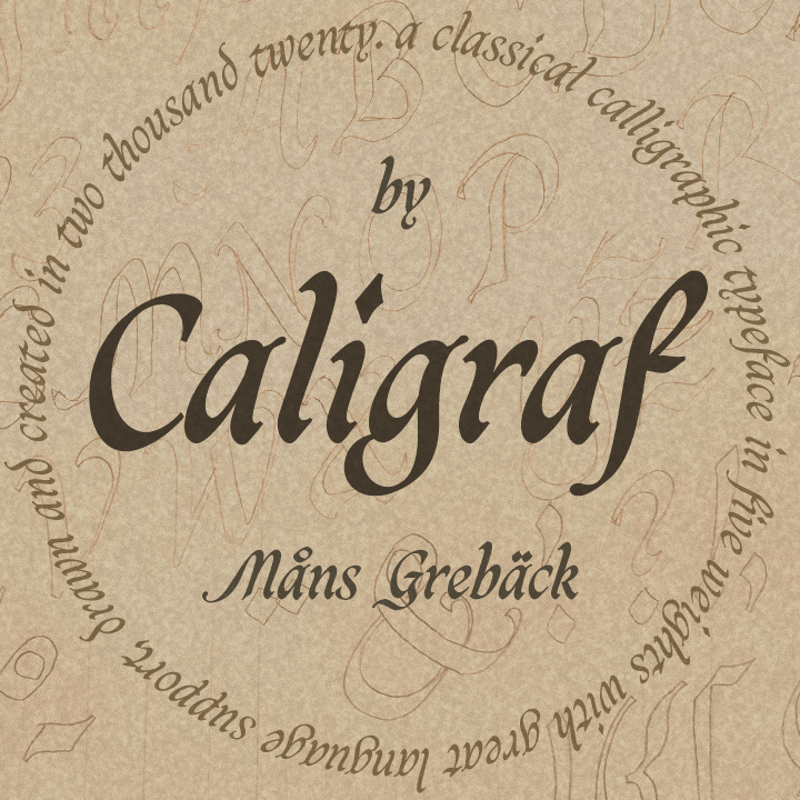 Caligraf PERSONAL USE illustration 1