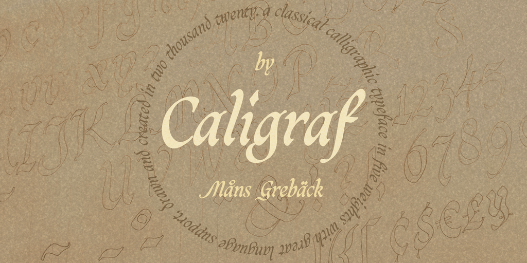 Caligraf PERSONAL USE illustration 2