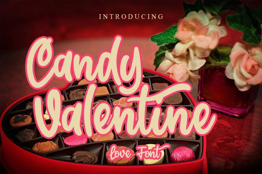 Candy Valentine illustration 2