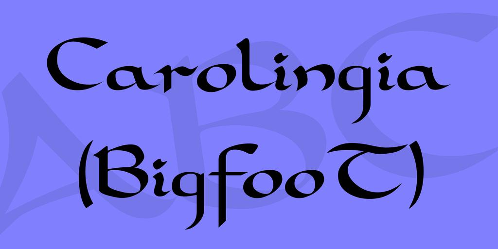 Carolingia (BigfooT) illustration 4