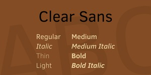 Clear Sans illustration 1