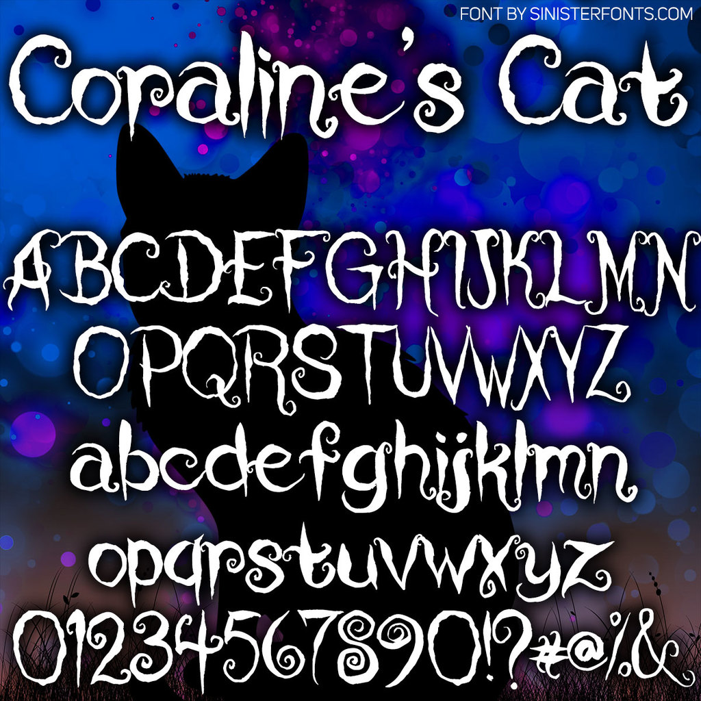 Coraline's Cat illustration 1