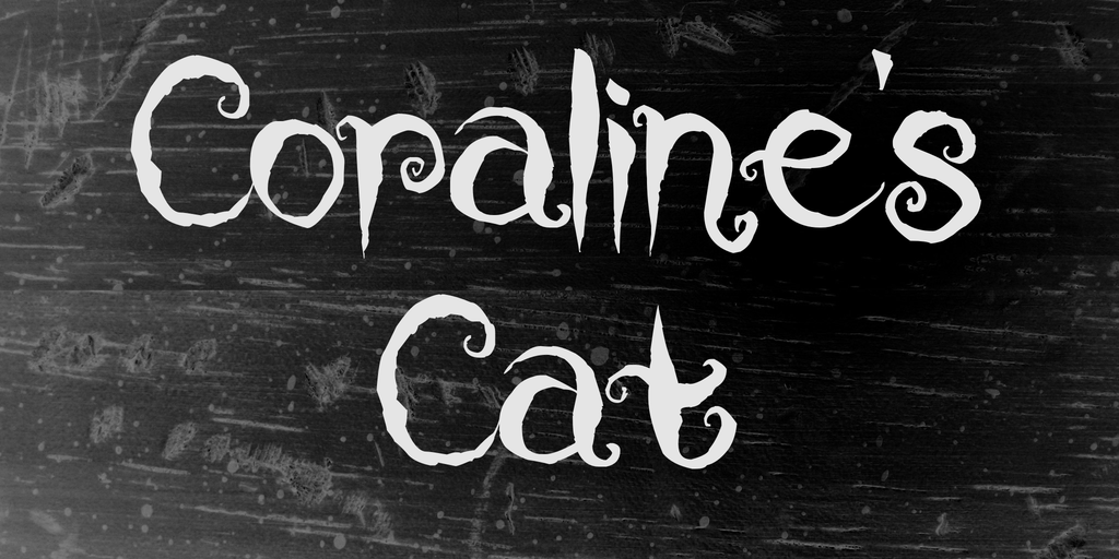 Coraline's Cat illustration 2