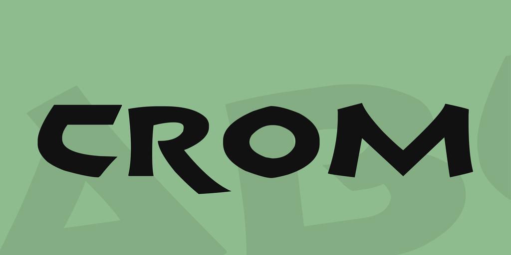 Crom illustration 1