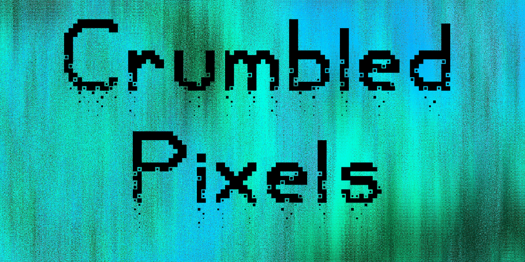 Crumbled Pixels illustration 1
