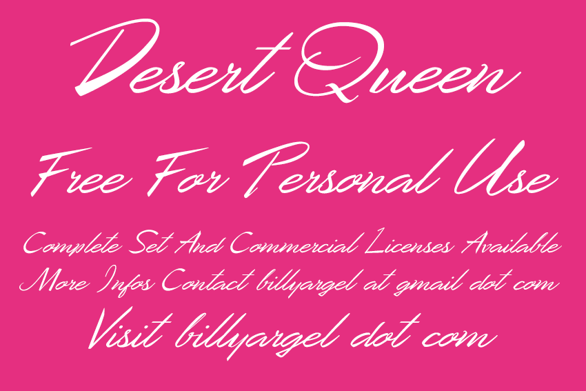 Desert Queen Personal Use illustration 1