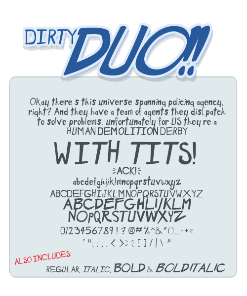 Dirty Duo illustration 1