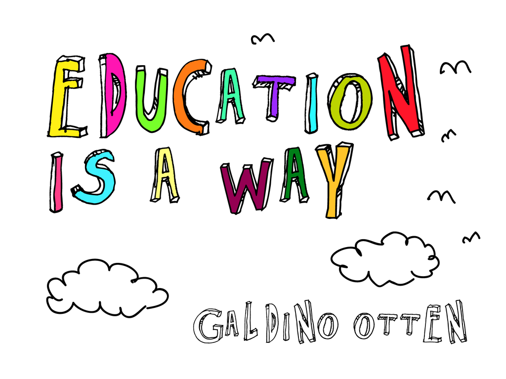 Education is a Way illustration 1