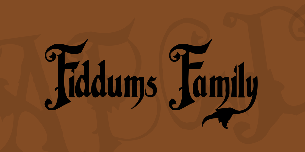 Fiddums Family illustration 1