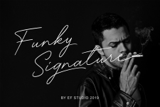 Funky Signature illustration 2
