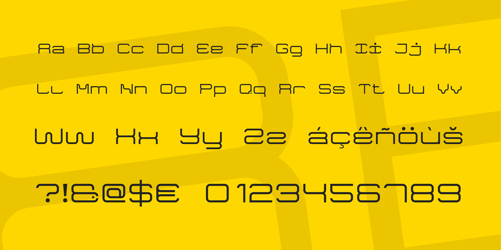 Game Font 7 illustration 3