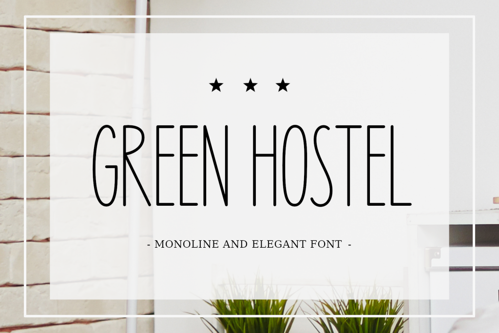 Green Hostel illustration 3