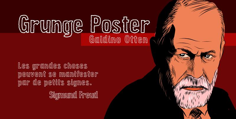 Grunge Poster illustration 1