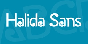 Halida Sans illustration 2