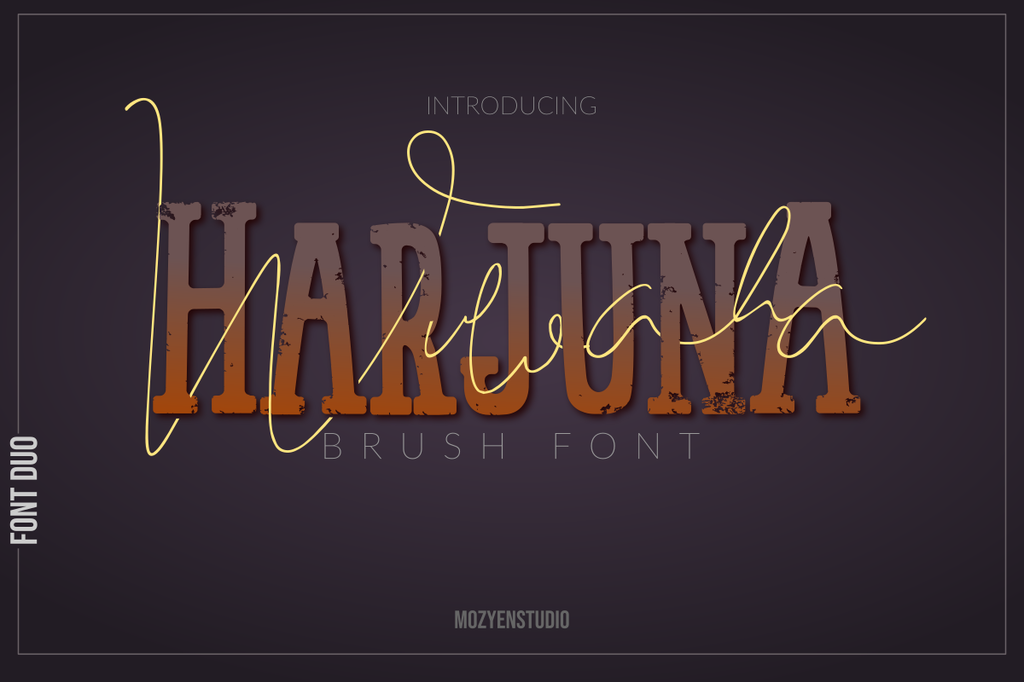 HarjunA Brush illustration 1