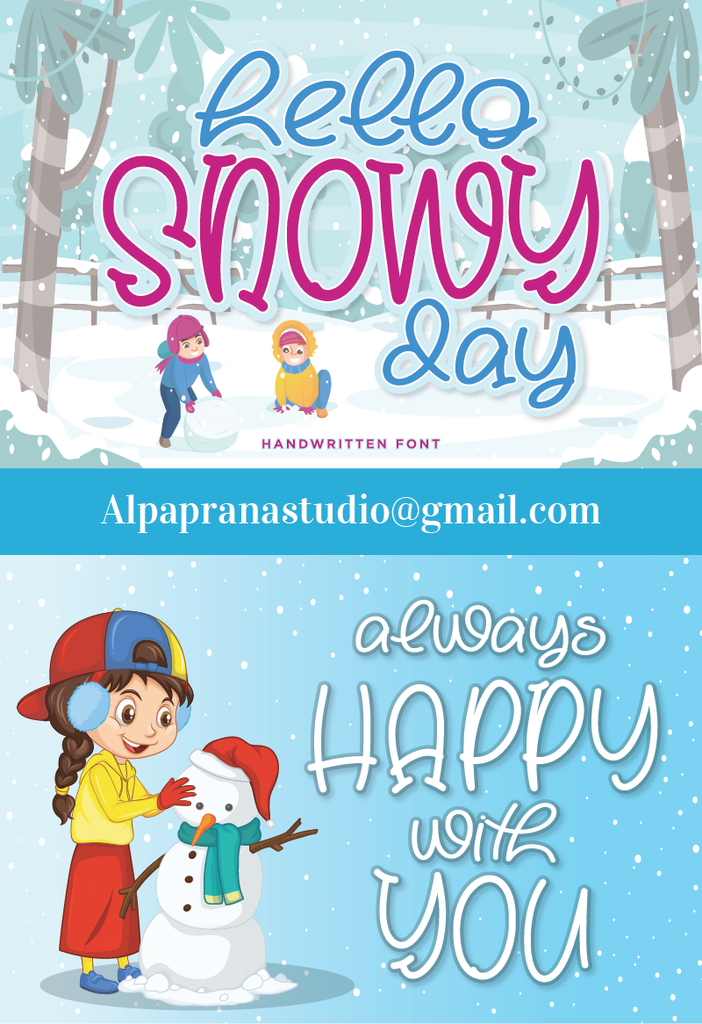 Hello Snowy illustration 1