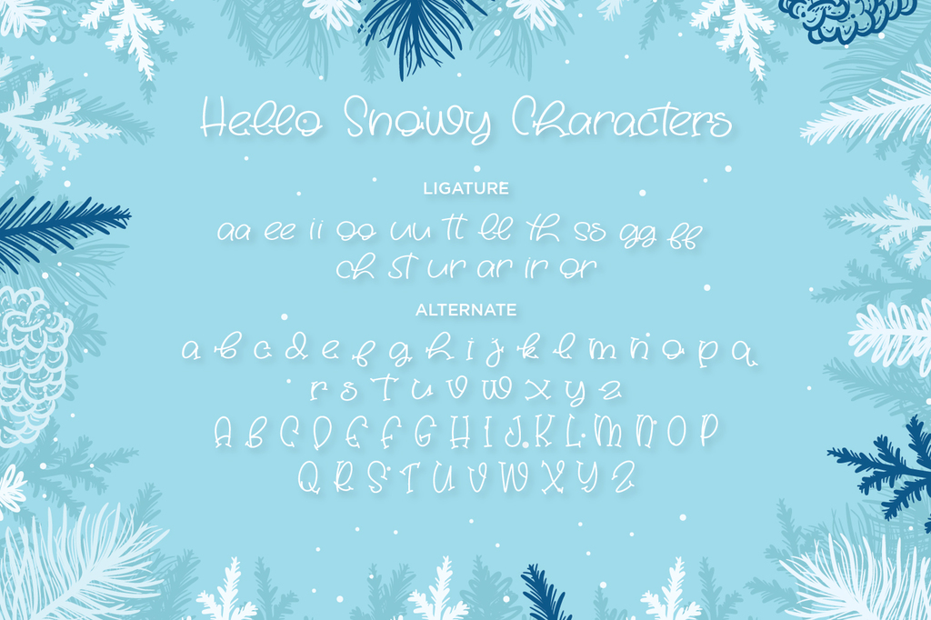 Hello Snowy illustration 3