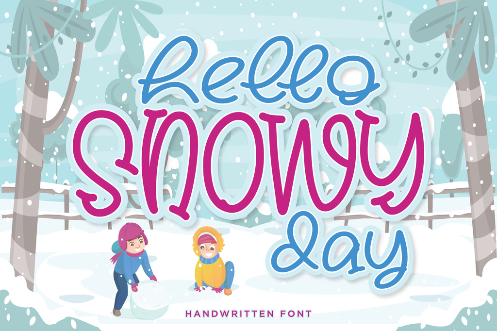 Hello Snowy illustration 8