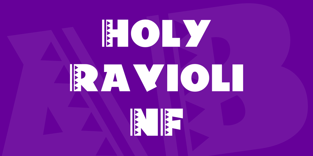 Holy Ravioli NF illustration 1