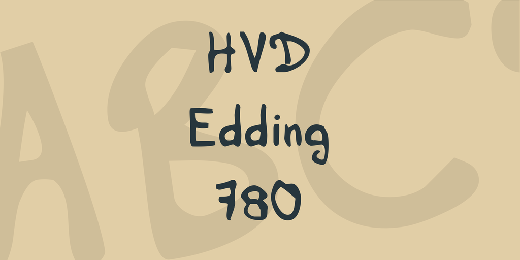 HVD Edding 780 illustration 1