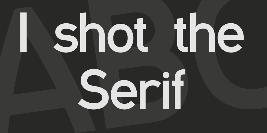 I shot the Serif illustration 2