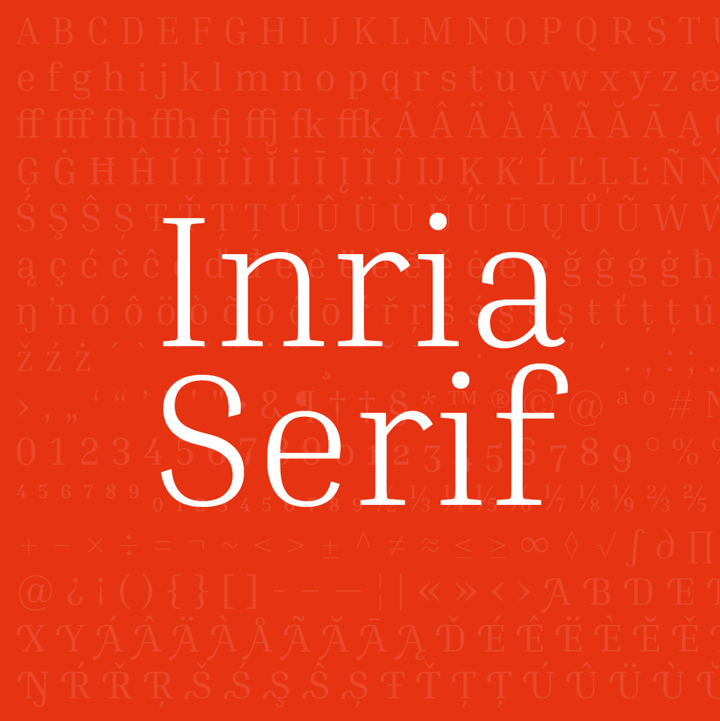 Inria Sans illustration 3