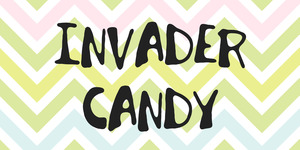 Invader Candy illustration 1