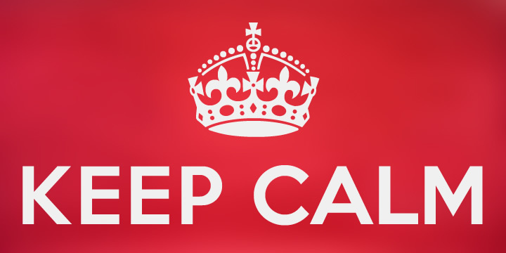 Keep Calm illustration 1