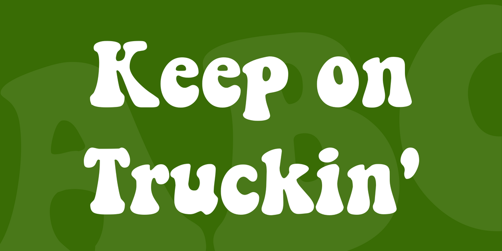 Keep on Truckin' illustration 1