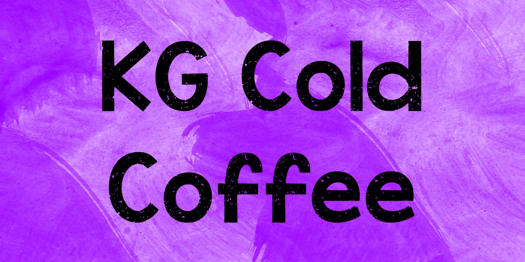 KG Cold Coffee illustration 1