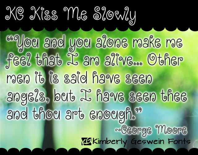 KG Kiss Me Slowly illustration 1